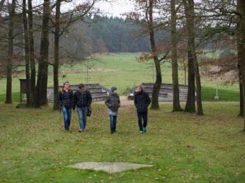 cc Stiftung Zuhören / Besuch der KZ Gedenkstätte Lety